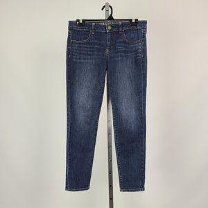 AEO Skinny Cropped Denim Jeans Size 6